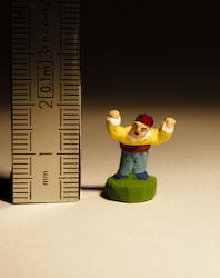 Santon puce de 2cm