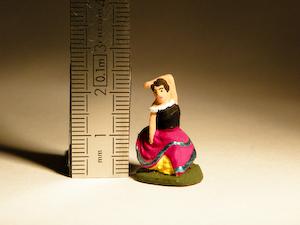 santon Puce de 2 cm