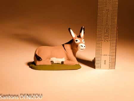 Santon Ane en 4 cm