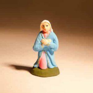 Santon de Marie en 4 cm