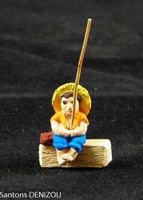 pêcheur à la ligne de 2 cm