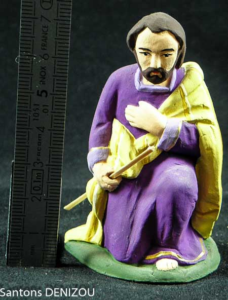 santon de Joseph en 9 cm
