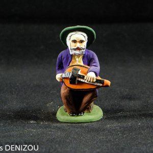 joueur de vielle 7 cm