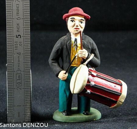 Tambourinaire 7 cm